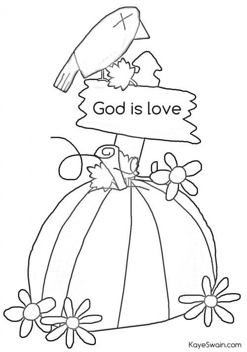 fall christian coloring pages - photo#13